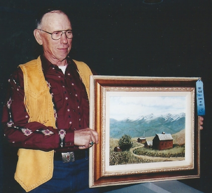 032 - leland's painting took first place