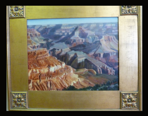 Grand Canyon by Shirley Alexander Oil $650