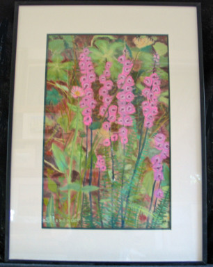 Wildflowers by Shirley Alexander Pastel  $200